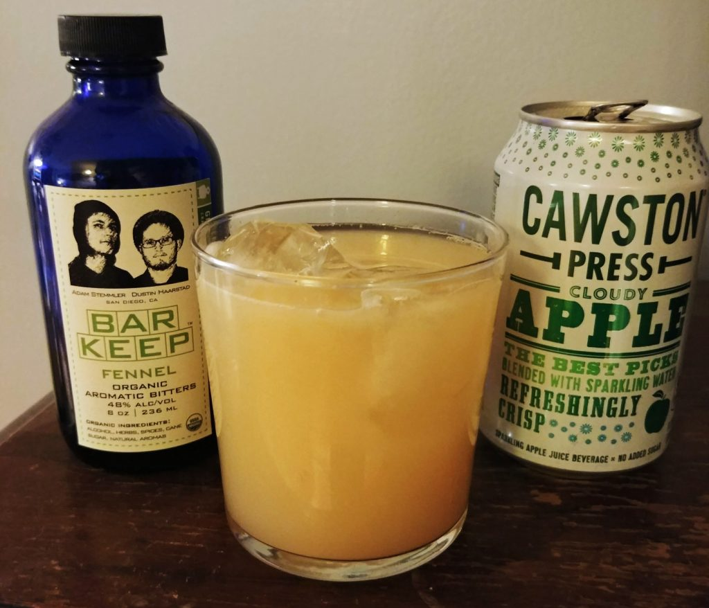 cawston cloudy apple fennel bitters