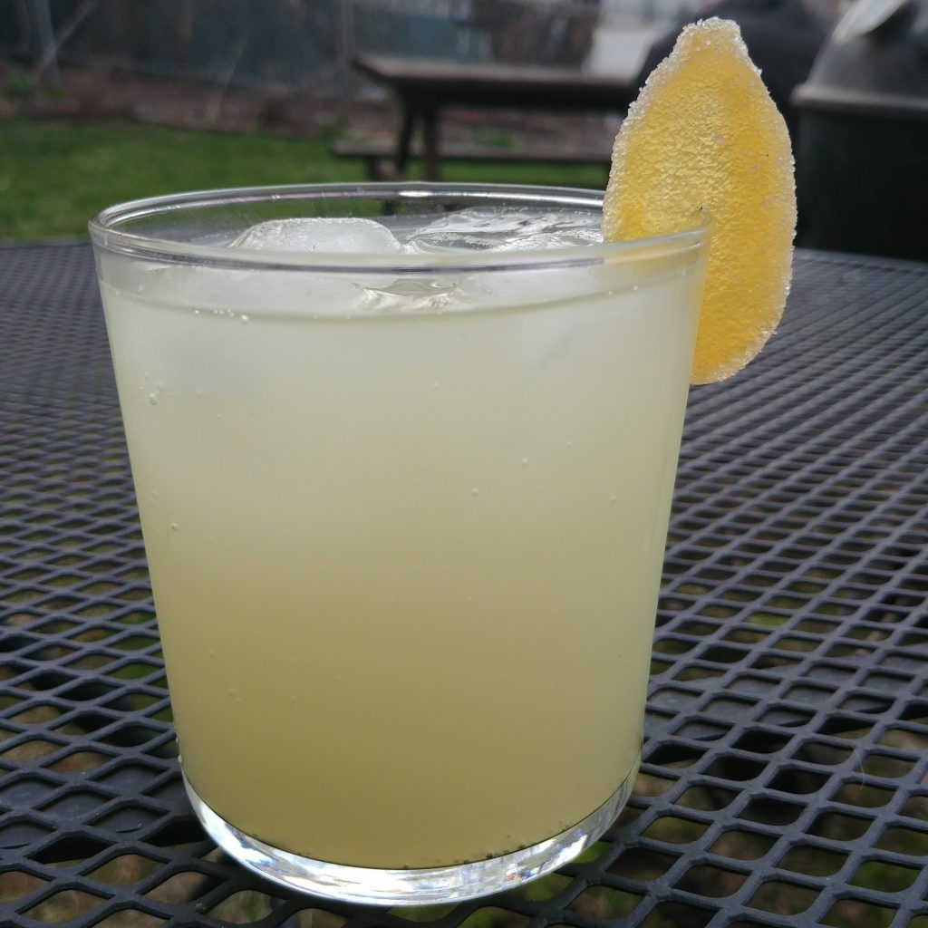 lime ginger rickey